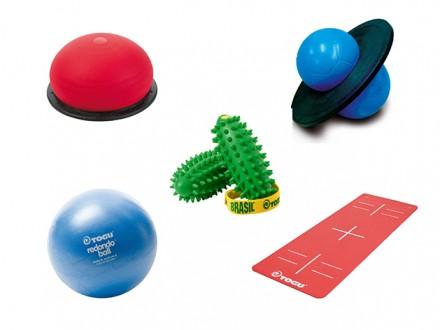 Sensomotorisches Workout im Freien</br> Outdoor-Zirkeltraining mit den TOGU® Produkten