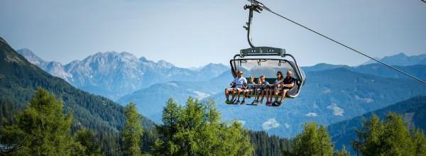 Mit der Sommerbergbahn in die Zauchenseer Bergwelt